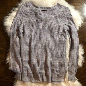 J Crew Grey Knit Sweater